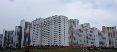 Hàng nghìn căn hộ tái định cư bên kia sông Sài Gòn xây xong, bỏ hoang