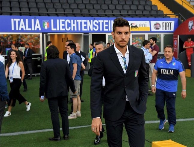 Do guc truoc ve dep cua nhung chang trai Italia vua bi loai khoi World Cup 2018