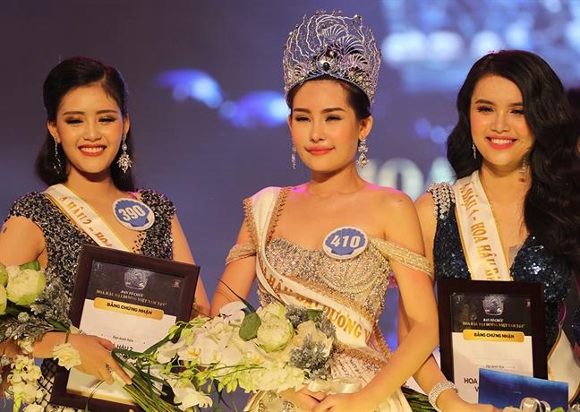 Tan Hoa hau Dai duong Viet Nam 2017: 'Nguyen Thi Thanh khong thao rang ra khi di thi thi sao lai so sanh voi toi'