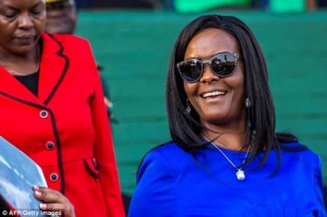 Phu nhân Tổng thống Mugabe đang ở đâu?