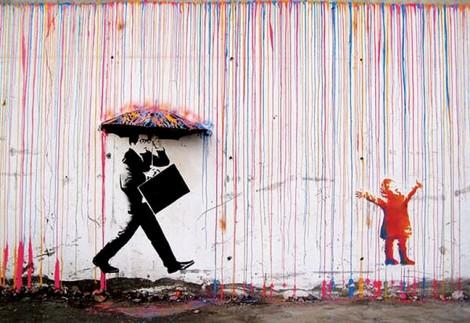 Banksy -  'bóng ma' của nghệ thuật