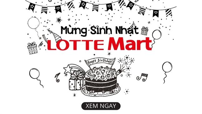 Quay tung bung dem sinh nhat Lotte Mart 9 tuoi