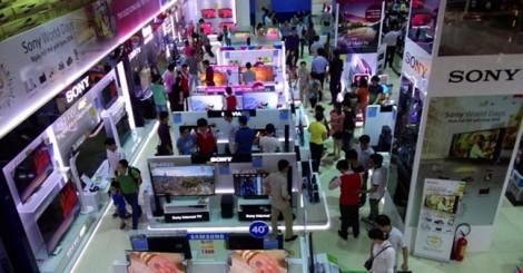 Những chiếc TV 'hồn Trung Quốc, da hàng Nhật'
