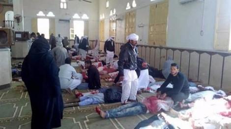 Tấn công đền thờ Hồi giáo ở Ai Cập, 235 người chết