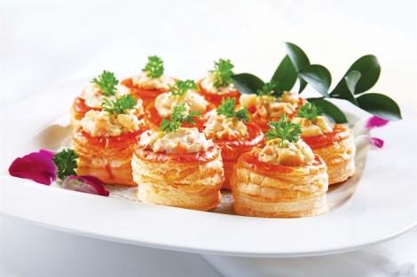 Cách làm bánh hải sản Vol Auvent, súp nghêu Triều Châu