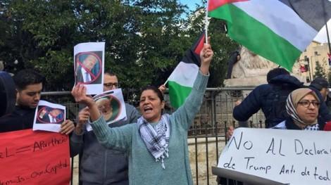 Trung Đông phẫn nộ sau quyết định của Tổng thống Trump