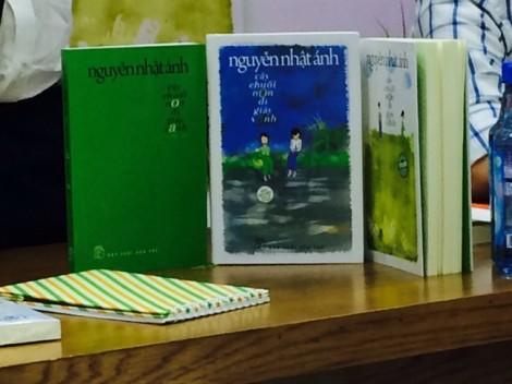 Ra sách mới, nhà văn Nguyễn Nhật Ánh kiên quyết không ký tặng trên sách giả