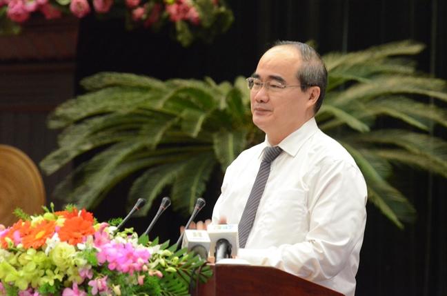 Bi thu Nguyen Thien Nhan: Cong tac tuyen giao thanh pho phai 'di truoc mot buoc'