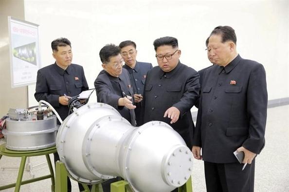 Nha khoa hoc hat nhan Trieu Tien tu sat sau khi dao tau bat thanh?