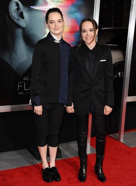 Nữ diễn viên phim 'X-men' bí mật kết hôn với bạn đời đồng tính sau 6 tháng hẹn hò