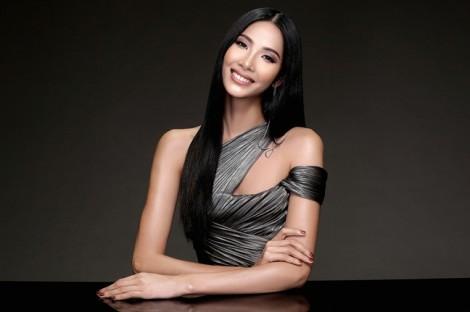 Hoàng Thùy gợi cảm với váy xuyên thấu trước chung kết Hoa hậu Hoàn vũ