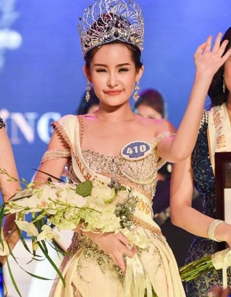 Lê Âu Ngân Anh nói gì khi bị thu hồi danh hiệu Hoa hậu Đại dương Việt Nam 2017?