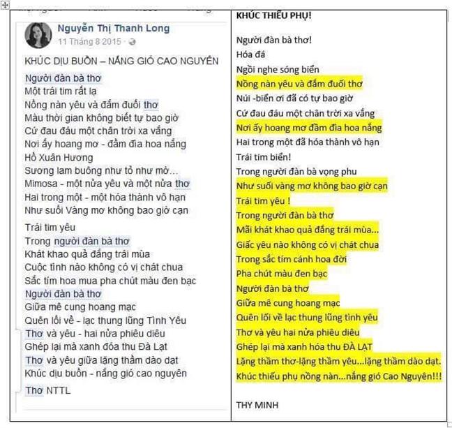 Nha tho Nguyen Thi Thanh Long lai dinh nghi van 'dao tho'