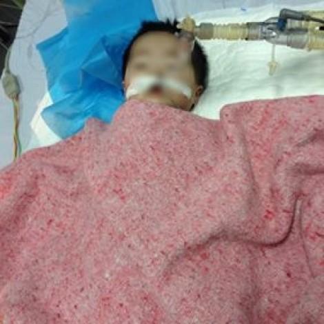Bé 8 tháng tuổi ở Hà Nội nguy kịch do tiêm nhầm thuốc?