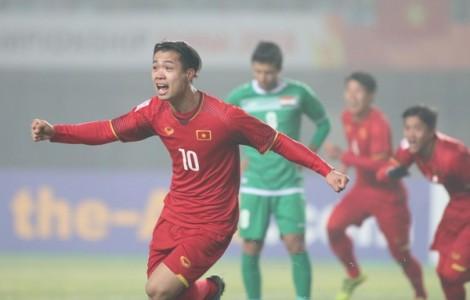 Địa chấn ở Giang Tô: U23 Việt Nam làm nên lịch sử trước U23 Iraq