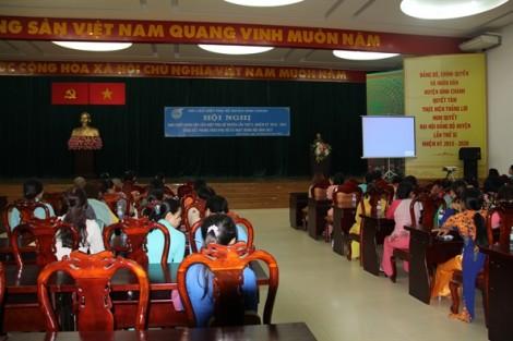 Huyện Bình Chánh: Nhiều hoạt động hỗ trợ phụ nữ xây dựng gia đình hạnh phúc