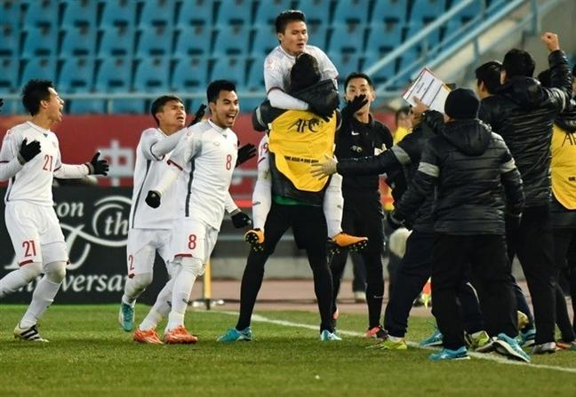 Nhieu ngan hang, doanh nghiep dong loat 'thuong nong' cho U23 Viet Nam
