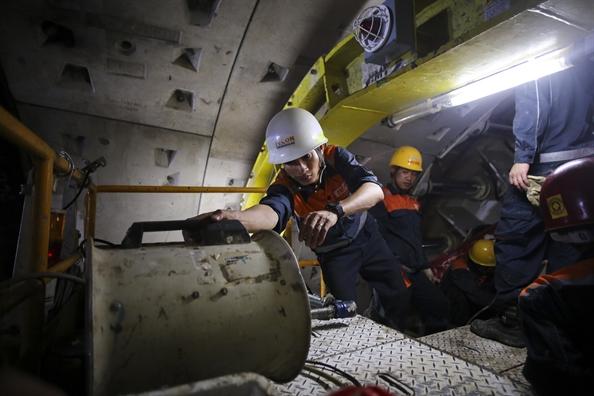 Bat dau khoan ngam duong ham thu 2 tuyen Metro Ben Thanh – Suoi Tien