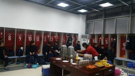 Vì sao U23 Việt Nam 'lót dạ' bằng chuối trong phòng thay đồ?