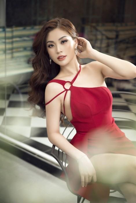Á hậu Diễm Trang gợi ý 5 mẫu đầm đón Tết gợi cảm