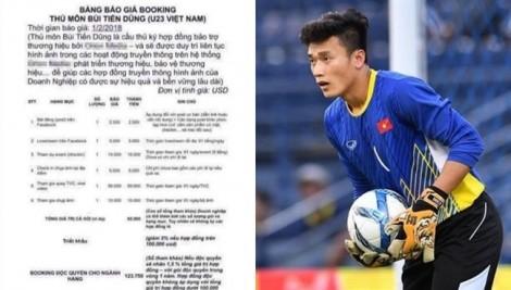 Quanh chuyện 'báo giá' của thủ môn Bùi Tiến Dũng: FLC Thanh Hóa chưa thể kiện khi chưa chứng minh được thiệt hại