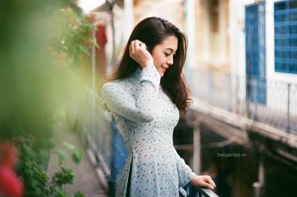 Cac kieu ao dai cach tan don tet 2018 duoc long phai dep