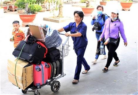 Chuyến tàu nghĩa tình đưa gần 600 công nhân nghèo về quê ăn tết