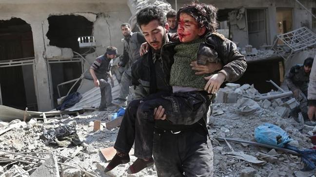 Lanh dao the gioi hoi thuc lenh ngung ban o Syria