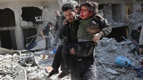 Lãnh đạo thế giới hối thúc lệnh ngừng bắn ở Syria