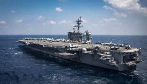 Sứ mệnh hòa bình của tàu sân bay Mỹ đến Việt Nam vào tháng 3/2018