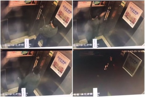 'Tè bậy' trong thang máy, cậu bé bị mắc kẹt, phụ huynh bẽ mặt
