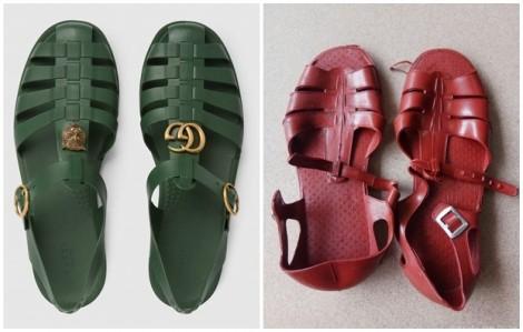 Sandal hơn 10 triệu đồng của Gucci giống dép rọ bộ đội Việt Nam đến bất ngờ