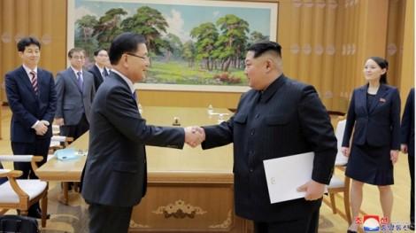Tổng thống Trump 'ca ngợi' nỗ lực hòa bình liên Triều