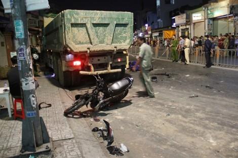 Khởi tố tài xế xe ben cuốn nhiều xe máy trên đường Phan Văn Trị