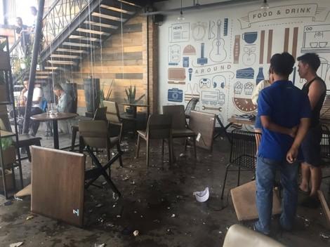 Vụ hai nhóm thanh niên hỗn chiến kinh hoàng trong quán cà phê: Do tranh giành địa bàn san lấp mặt bằng