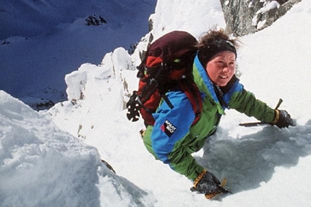 Khong binh duong khi, nguoi phu nu ngao nghe chinh phuc dinh Everest