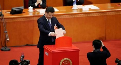 Quốc hội Trung Quốc bầu lại ông Tập Cận Bình làm Chủ tịch nước