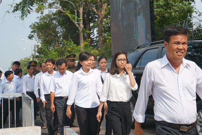 Nguyen Chu tich nuoc Truong Tan Sang: Ong Sau Khai co dong gop dac biet ve doi moi kinh te dat nuoc