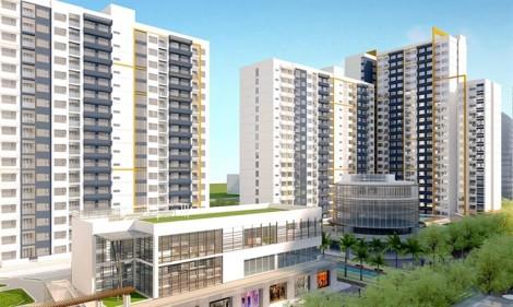 Dự án nằm trong khu tái định cư Thủ Thiêm - New City chưa được cơ quan chức năng cho phép bán hàng