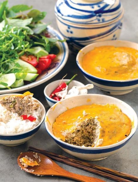 Vào bếp với món mắm chưng trứng thịt ngon miệng