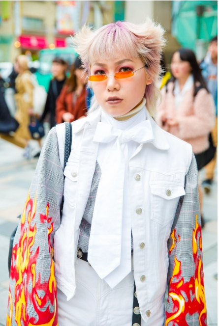 Nhung bo canh doc, di den kho hieu tai Tuan le Thoi trang Tokyo 2018