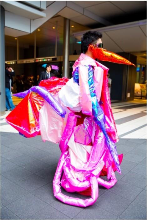 Những bộ cánh độc, dị đến khó hiểu tại Tuần lễ Thời trang Tokyo 2018