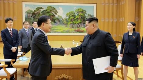 Triều Tiền và Hàn Quốc họp liên Triều vào tháng 4/2018