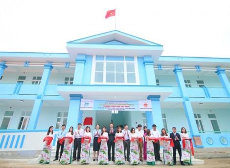 200 học sinh Quảng Bình có thêm trường học mới
