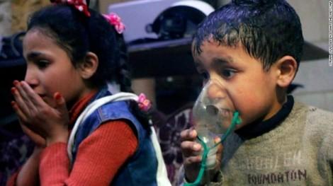 Nga - Mỹ tranh cãi nảy lửa về vụ tấn công hóa học ở Syria
