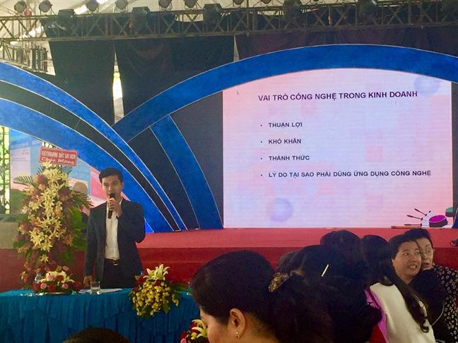 Toa dam 'Phu nu khoi nghiep thoi cong nghe 4.0'