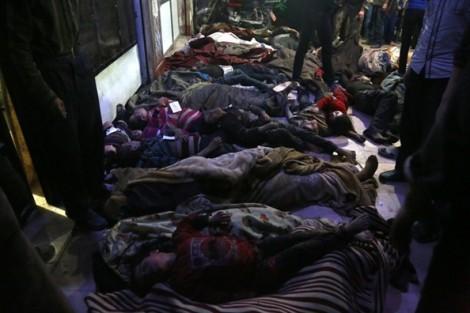 Đêm kinh hoàng ở 'thành lũy' của quân nổi dậy Syria