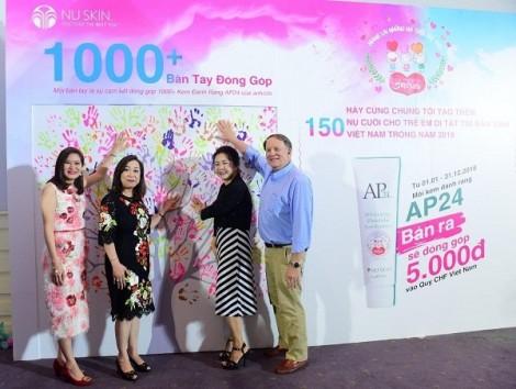 Nu Skin Việt Nam đẩy mạnh chương trình 'Mang lại nụ cười trẻ thơ' giúp đỡ trẻ em bệnh tim bẩm sinh