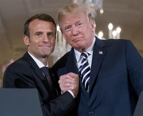 Mỹ, Pháp - ngoài hữu hảo, trong bất đồng