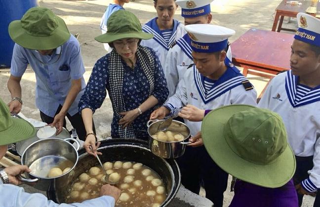 Giot mau dao Truong Sa